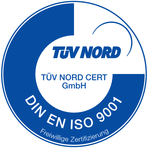 Freiwillige Zertifizierung ISO 9001